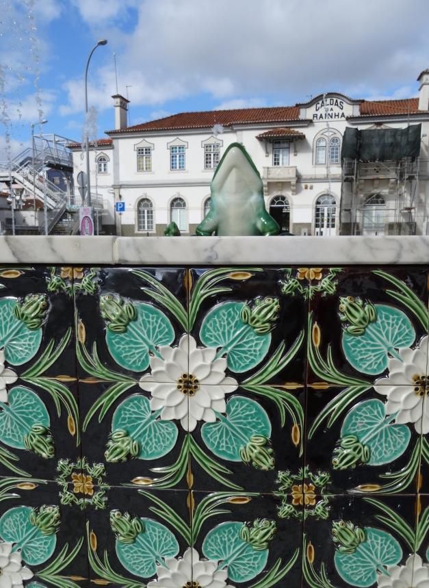 Detail tageltableau fontein