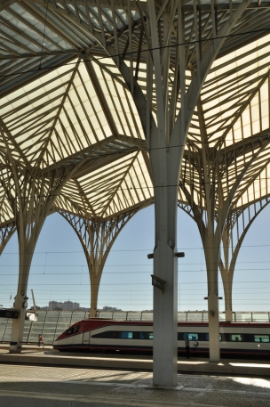 Station Gare do Oriente Lissabon