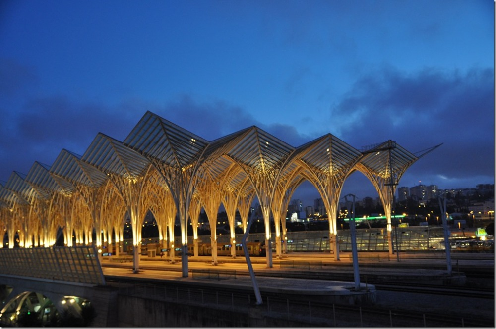 Lissabon Gare do Oriente