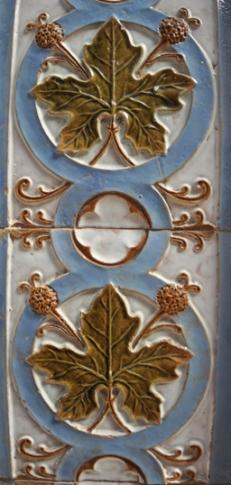 Gevel huis in Caldas da Rainha