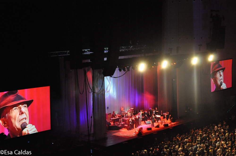 Concert Leonard Cohen in Pavilhão Atlântico (tegenwoordig MEO ARENA) - Lisboa