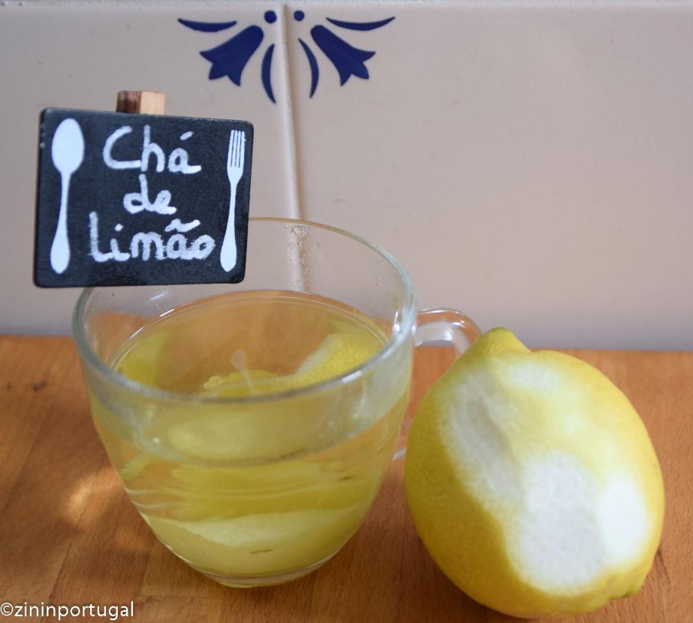 Chá de limão, citroenthee