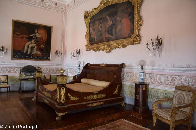 Mafra, koninklijk bed