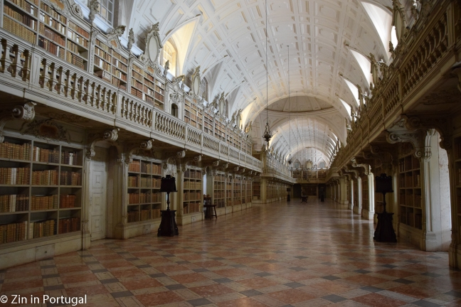 Mafra, bibliotheek