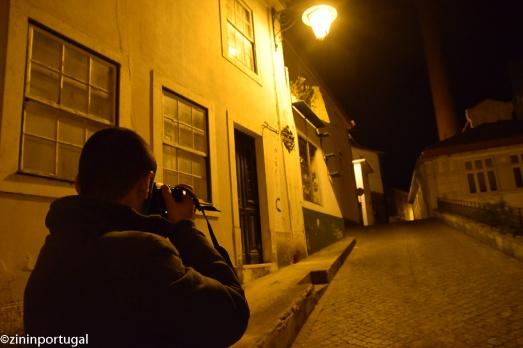 Caldas da Rainha avond fotografie