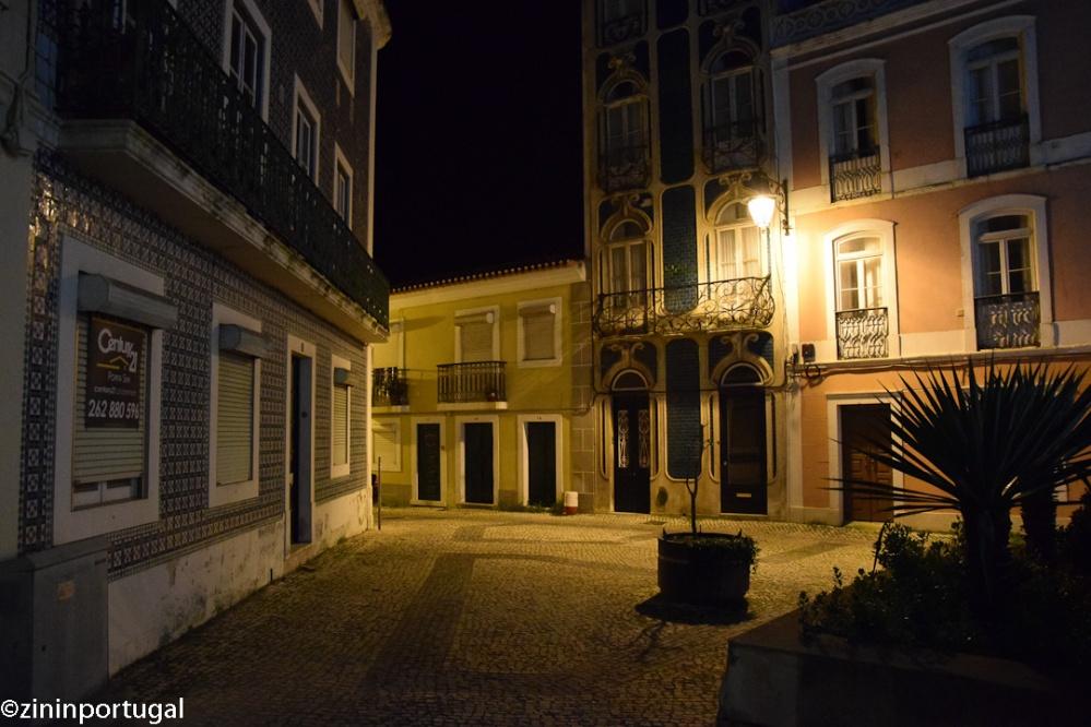 Caldas da Rainha avondfotografie