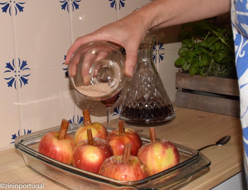 Maçã assada - in oven gebakken appel