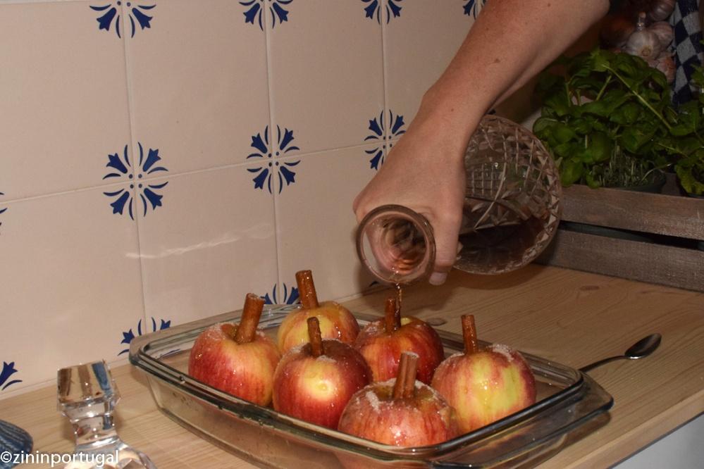 Maça assada: in de oven gebakken appels