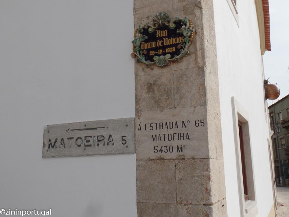 Caldas, straatnaambord