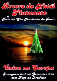 São Martinho aankondiging kerstboom