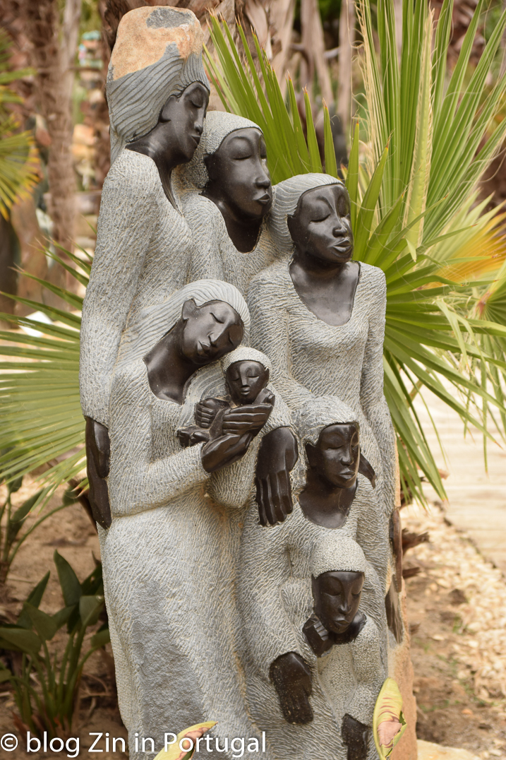 Buddha Eden Afrikaanse beelden