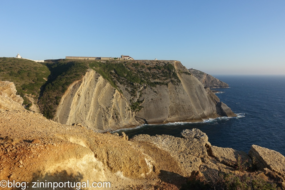 Kust bij Cabo Espichel