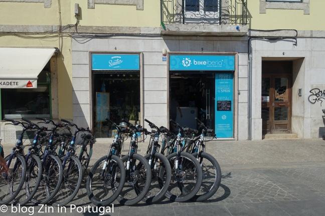 Fiets huren in Lissabon