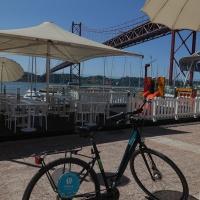 Lissabon: fietstochtje langs de Taag