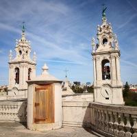 Lissabon: tuin en basiliek in Estrela